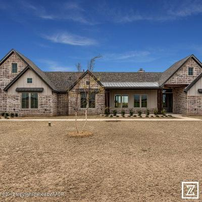 Amarillo Single Family Home For Sale: 9031 Wimberly Falls Dr