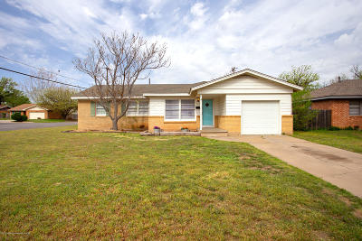 Amarillo Single Family Home For Sale: 3318 Fleetwood Dr