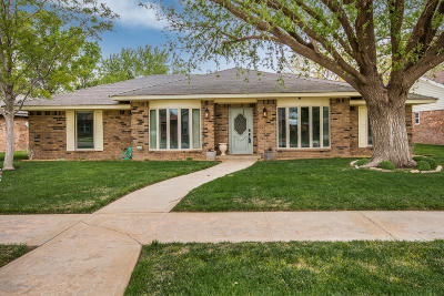 Amarillo Single Family Home For Sale: 6407 Mooregate Dr