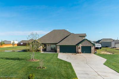 Amarillo Single Family Home For Sale: 5601 Joshua Deets Trl