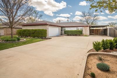 Amarillo Single Family Home For Sale: 2823 Armand St
