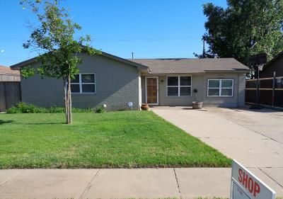 Amarillo Single Family Home For Sale: 4410 33rd Ave