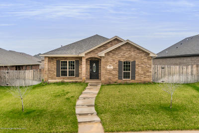 Amarillo Single Family Home For Sale: 8909 Zoe Dr