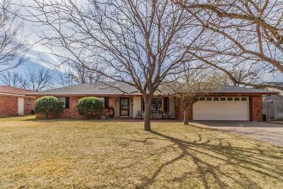 Amarillo Single Family Home For Sale: 5513 Tawney Ave