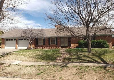 Amarillo Single Family Home For Sale: 3705 Wayne St