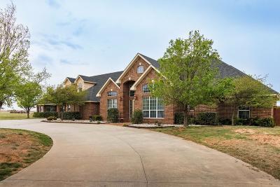 Amarillo Single Family Home For Sale: 13400 Vista Dr