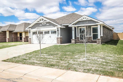 Amarillo Single Family Home For Sale: 9308 Cagle Dr
