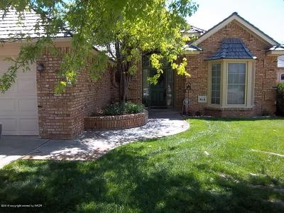 Amarillo Single Family Home For Sale: 11 Crenshaw St