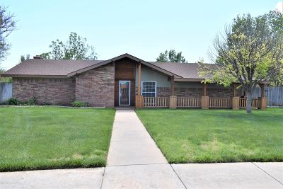 Potter County, Randall County Single Family Home For Sale: 7405 Calumet Pl