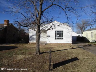 Amarillo Single Family Home For Sale: 1944 Seminole St