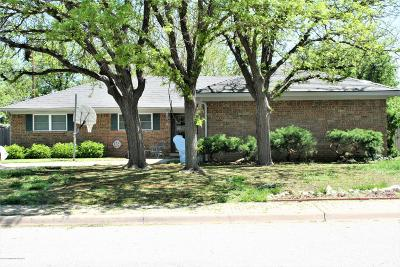 Potter County, Randall County Single Family Home For Sale: 6121 Hanson Rd