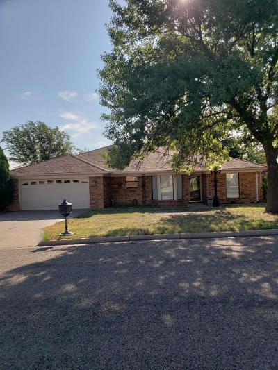 Borger Single Family Home For Sale: 1118 Coffee St