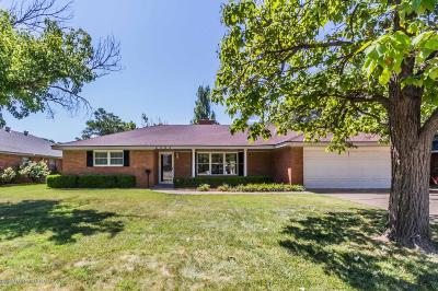 Potter County, Randall County Single Family Home For Sale: 6203 Calumet Rd