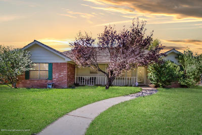Amarillo Single Family Home For Sale: 7104 Birkshire Dr