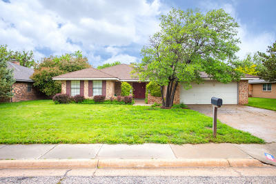 Amarillo Single Family Home For Sale: 3708 Montague Dr