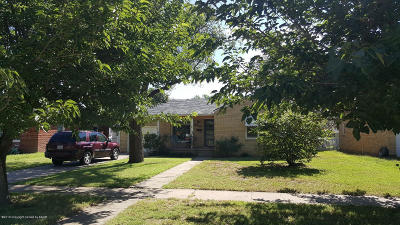 Amarillo Single Family Home For Sale: 1005 Milam St