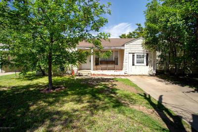 Amarillo Single Family Home For Sale: 4108 Lipscomb St