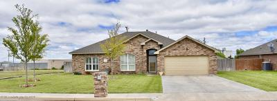 Hereford Single Family Home For Sale: 822 Columbia Dr.
