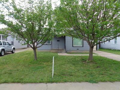 Amarillo Single Family Home For Sale: 4210 Lipscomb St