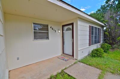 Amarillo Single Family Home For Sale: 4613 Travis St