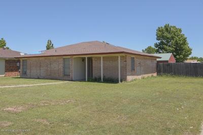 Amarillo Single Family Home For Sale: 3221 Vernon St