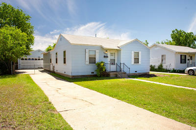 Amarillo Single Family Home For Sale: 4435 Bowie St