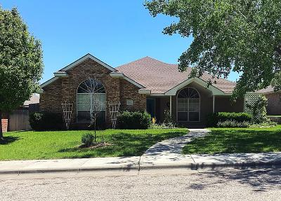 Amarillo Single Family Home For Sale: 6507 Tilden Ct