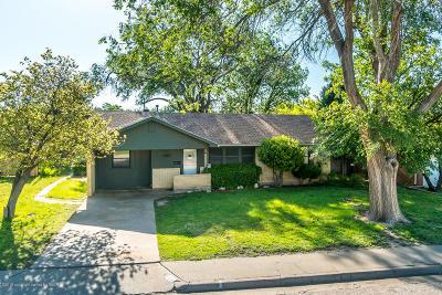 Amarillo Single Family Home For Sale: 1523 Carolina St