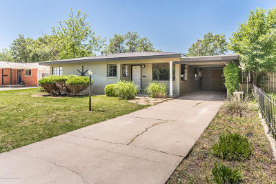 Amarillo Single Family Home For Sale: 3408 Linda Dr