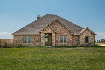 Amarillo Single Family Home For Sale: 8110 Clara Allen Trl
