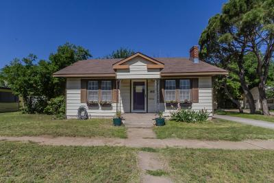 Amarillo Single Family Home For Sale: 1012 Hayden St