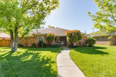 Amarillo Single Family Home For Sale: 8413 Venice Dr