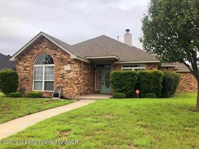 Amarillo Single Family Home For Sale: 1504 Timothy Ln