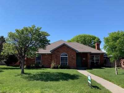 Amarillo Single Family Home For Sale: 6710 Blossom Ct