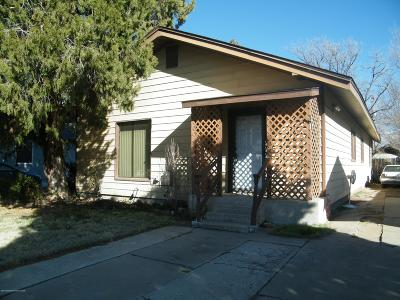 Amarillo Single Family Home For Sale: 1507 Hayden St