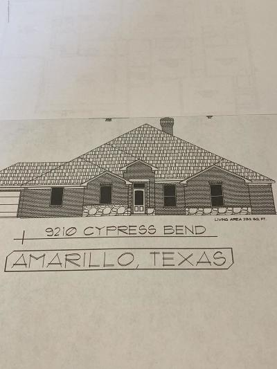 Amarillo Single Family Home For Sale: 9210 Cypress Bend Dr