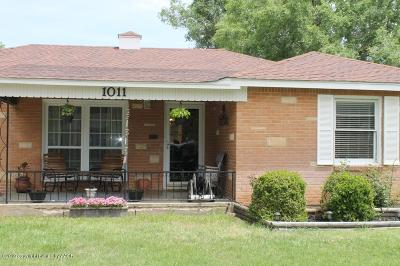 Amarillo Single Family Home For Sale: 1011 Bonham St