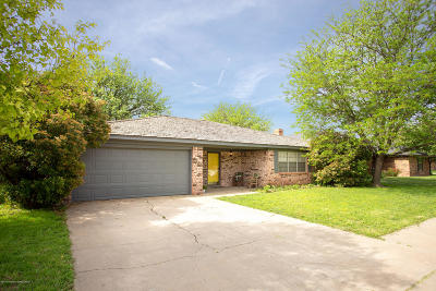 Amarillo Single Family Home For Sale: 6705 Bayswater Rd