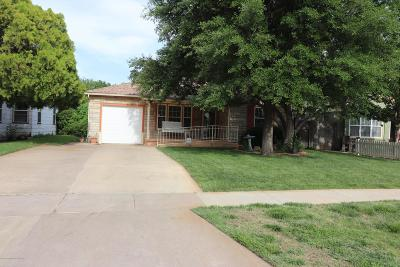 Amarillo Single Family Home For Sale: 917 Fannin St