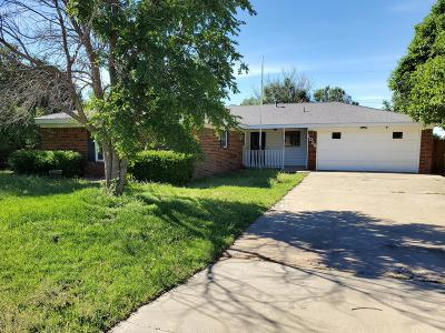 Fritch Single Family Home For Sale: 1028 Plains Dr