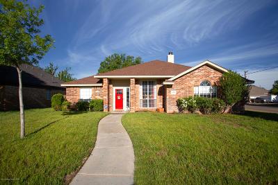 Amarillo Single Family Home For Sale: 6300 Fannin St