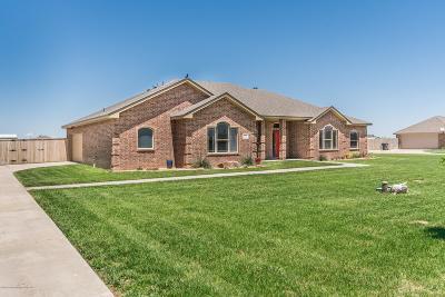 Amarillo Single Family Home For Sale: 19050 Stone Creek Rd