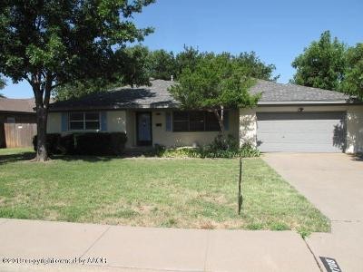 Amarillo Single Family Home For Sale: 3708 Fleetwood Dr