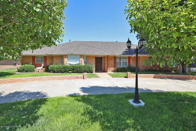 Amarillo Single Family Home For Sale: 3711 Farwell Dr