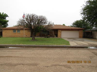 Fritch Single Family Home For Sale: 301 Coronado St