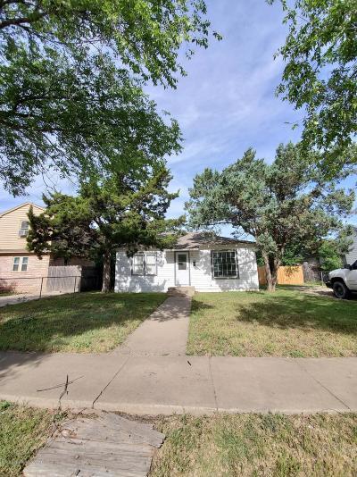 Amarillo Single Family Home For Sale: 4014 Hughes St