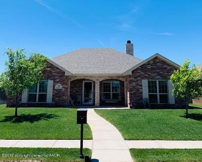 Amarillo Single Family Home For Sale: 7308 Providence