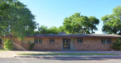 Amarillo Single Family Home For Sale: 3700 Mays Ave