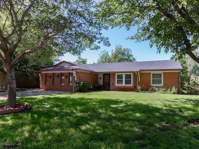 Amarillo Single Family Home For Sale: 5504 Alvarado Rd