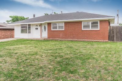 Borger Single Family Home For Sale: 714 Missouri St